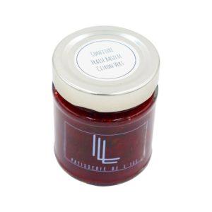 pot de confiture fraise citron vert basilic confiture artisanale Alsace