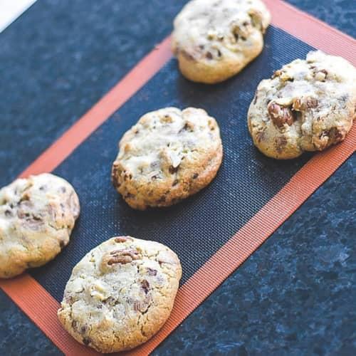 miniature recette cookies aux pépites de chocolat et noix de pécan